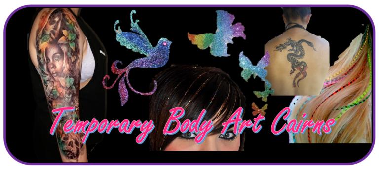 Temporary Body Art Cairns